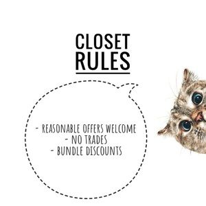 Other - My Closet Rules